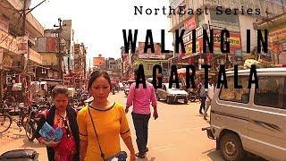 Walking in Agartala