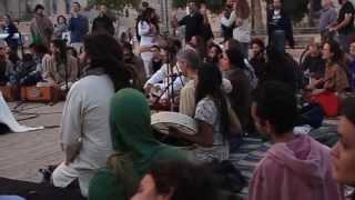 A singing circle in Jerusalem- Unite In Zion 11.05.2014 -מעגל שירה מקודשת בלב ירושלים
