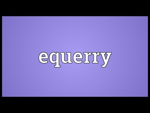 Header of equerry