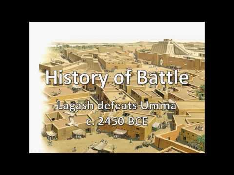 History of Battle - Lagash defeats Umma (c. 2450 BCE)