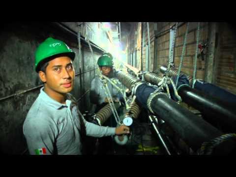 Así avanza la reparación de la central hidroeléctrica Guatapé