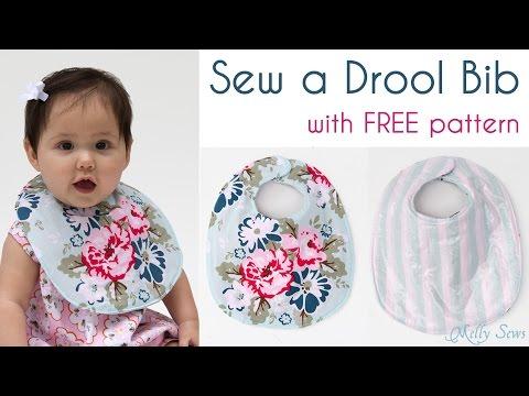 Sew A Baby Bib Make Drool You