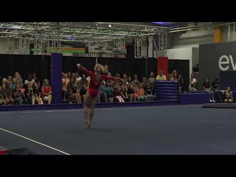 Riley McCusker - Floor Exercise - 2018 World Team Selection Camp