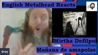 Mirtha Defilpo (con Litto Nebbia) - Mañana de Amapolas (English Metalhead Reacts)