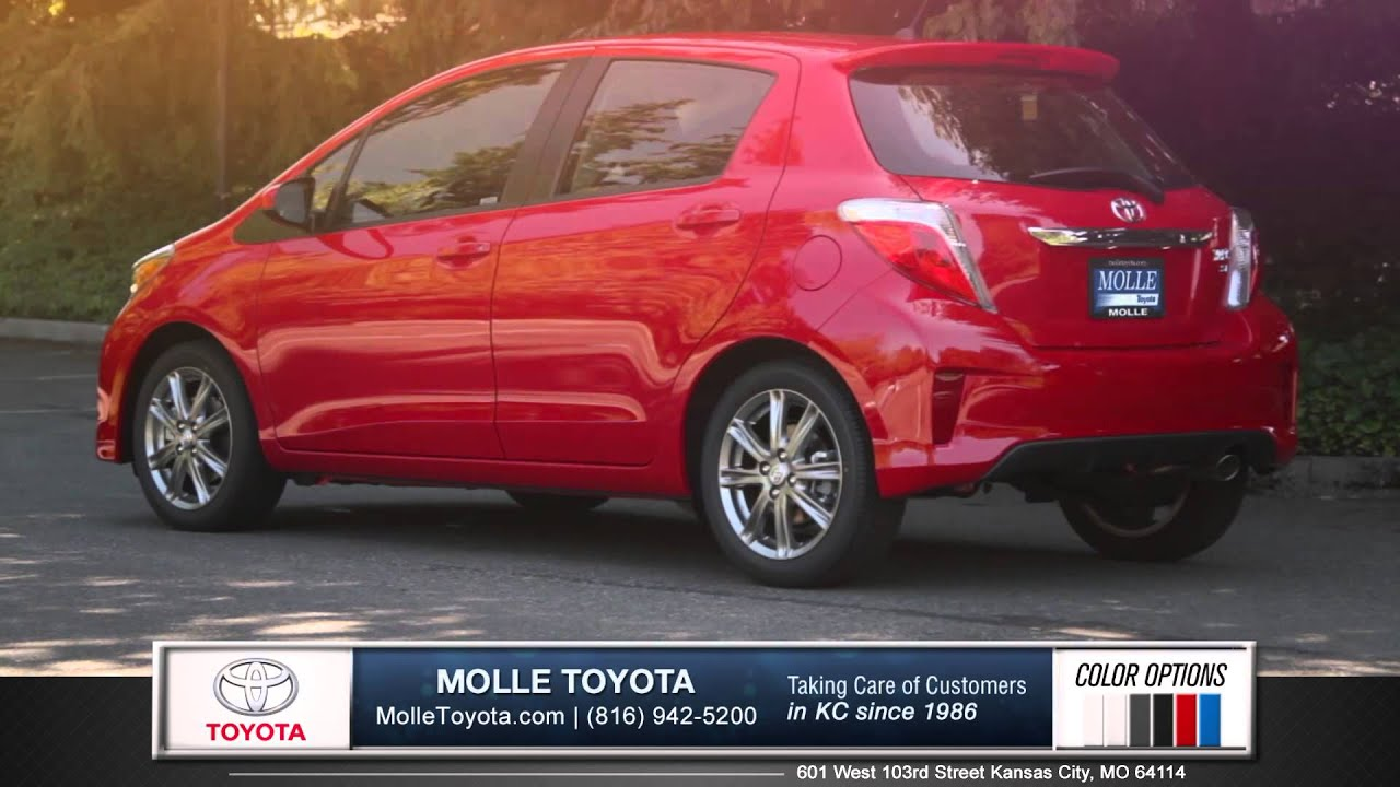 Elegant 2015 Toyota Yaris Walk Around   Kansas City, MO | Molle Toyota