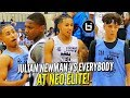 Julian Newman VS EVERYBODY at NEO Youth Elite! Camp Highlights!