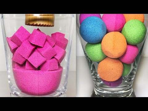 Very Satisfying and Relaxing Compilation 97 Kinetic Sand ASMR