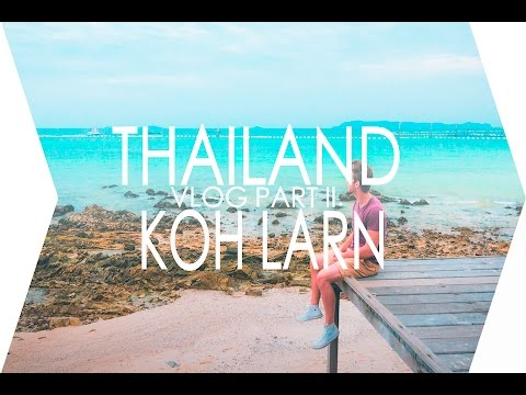 ON MOTORBIKES AROUND KOH LARN ISLAND | THAILAND TRAVEL