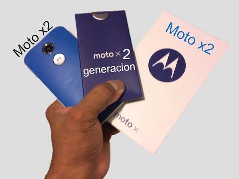 Moto x (2nd Gen) Unboxing en espanol echandole el primer vistazo