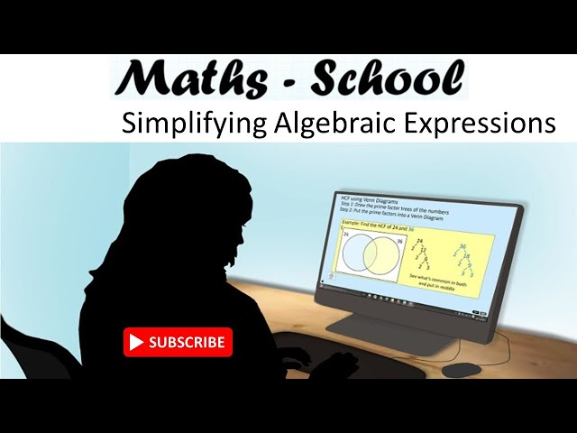 Simplifing algebraic expressions for GCSE Maths Revision