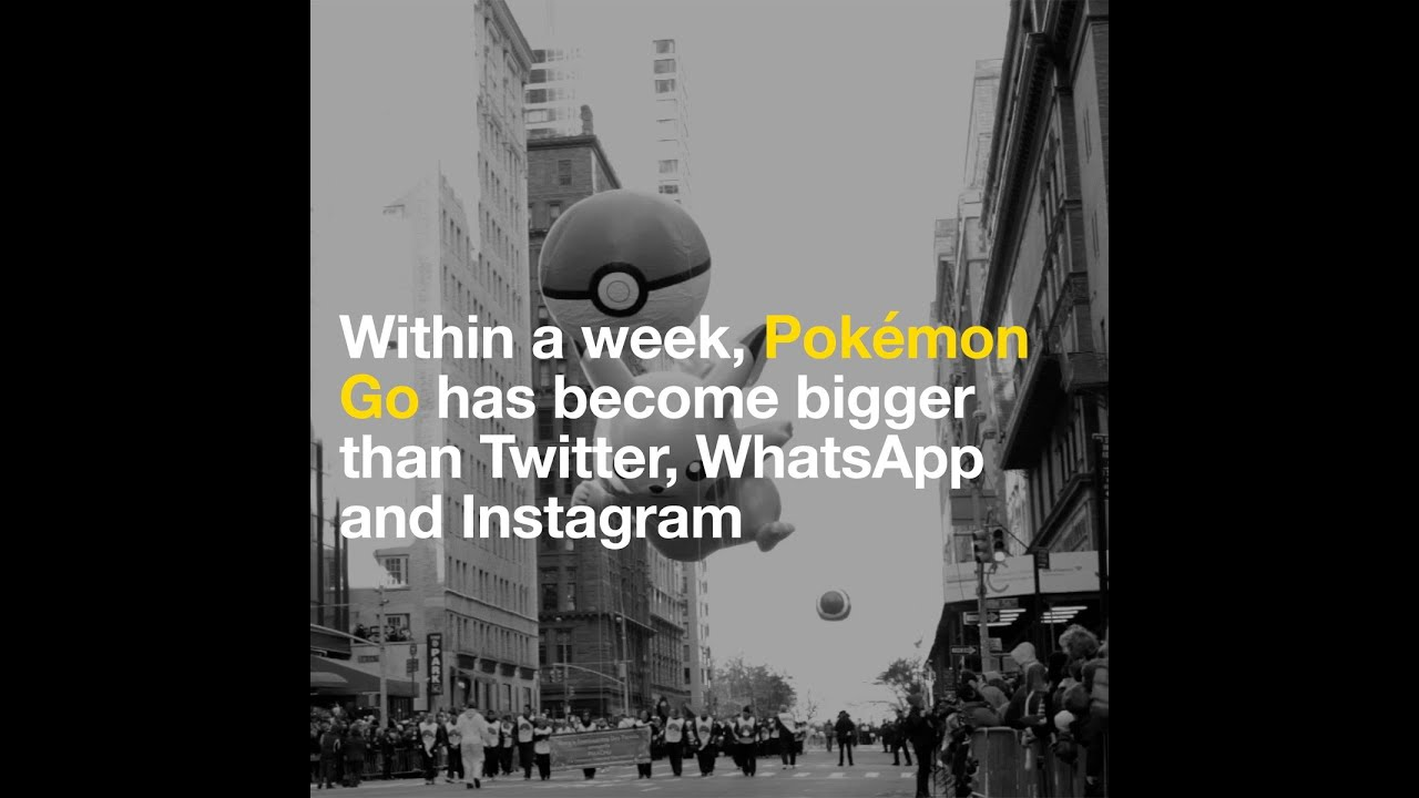 Within a week, Pokémon Go has become bigger than Twitter, WhatsApp and  Instagram