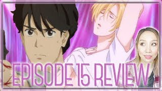 """BANANA FISH EPISODE 15 REVIEW - """"Where's my candy bar?"""""""