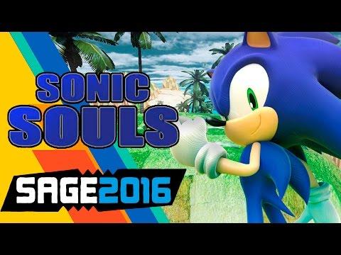 Играем в фан-игры - Sonic Souls (SAGE 2016)