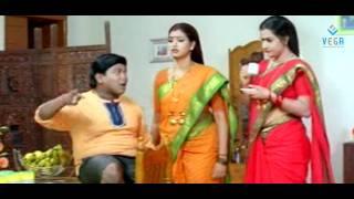 Bhuvaneswari ,Krishna Bhagavan And Chithram Srinu Comedy - Konchem touch lo unte cheputanu
