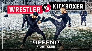 Turkish PREDATOR vs. German NIGHTMARE | MMA Streetfight | DFC