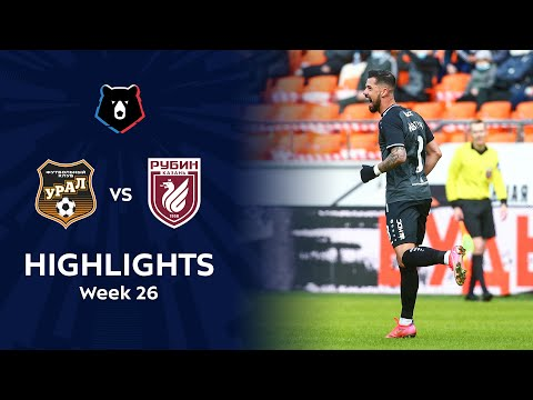 Ural Rubin Kazan Goals And Highlights