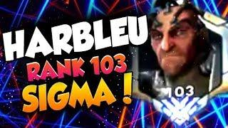 HARBLEU RANK 103 SIGMA AND HAMMOND! [ OVERWATCH SEASON 19 TOP 500 ]