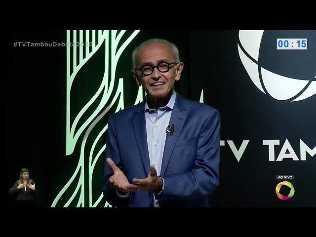 Tambaú Eleições 2020: Debate entre Cícero Lucena e Nilvan Ferreira - Bloco 1 - 26 11 2020