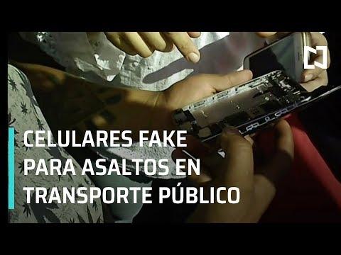 Asalto a transporte público; venta de celulares fake - En Punto con Denise Maerker
