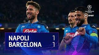 Napoli vs Barcelona (1-1) | UEFA Champions League Highlights
