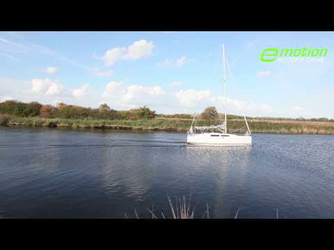 Hanse E-MOTION RUDDER DRIVE - THE REVOLUTION IN YACHTING