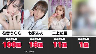 【TOP100】今最も抜かれている女優さんランキング!!!【#2】