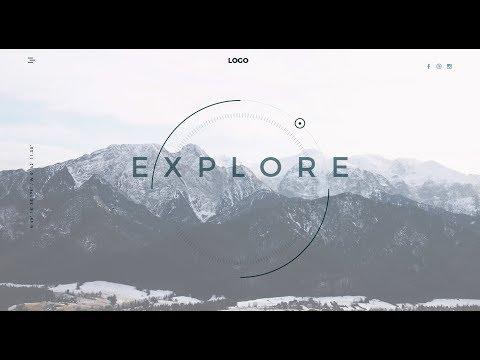Travel Website Landing Page // Tutorial Coming Soon
