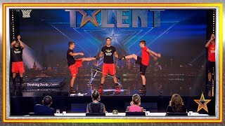 DUNKING DEVILS show us how to score a slam! | Auditions 2 | Spain's Got Talent 2019