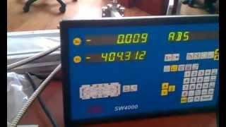 УЦИ цифровая индикация на станки Carmar linear DRO scale.(Поставка и установка УЦИ на любые станки универсального типа, токарные, фрезерные, шлифовальные, координат..., 2013-05-15T14:28:34.000Z)