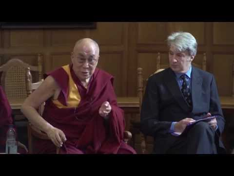 His Holiness the Dalai Lama at the Dalai Lama Centre for Compassion, Oxford