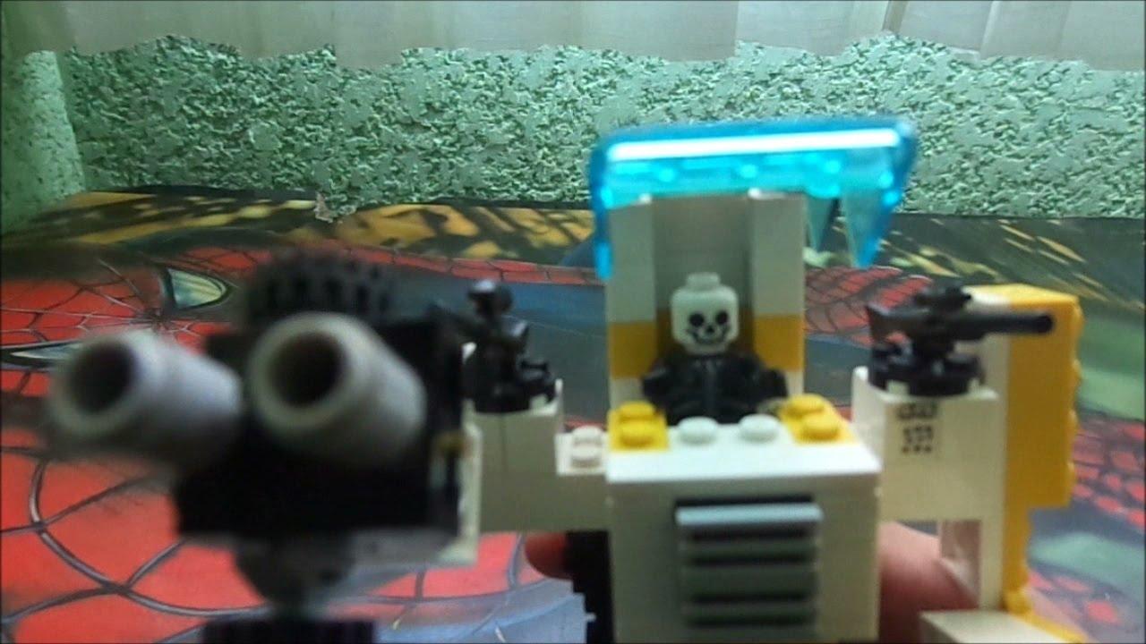 Como hacer un robot de combate lego mr p youtube - Piezas lego gigantes ...
