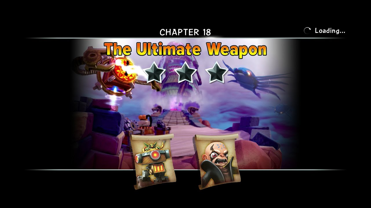 SKYLANDERS TRAP TEAM CHAPTER 18 THE ULTIMATE WEAPON KAOS ...
