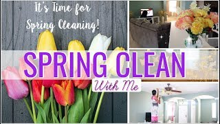 Spring Clean + Decorate With Me 2018 | Living Room & Foyer | Cleaning Motivation | Leann DuBois
