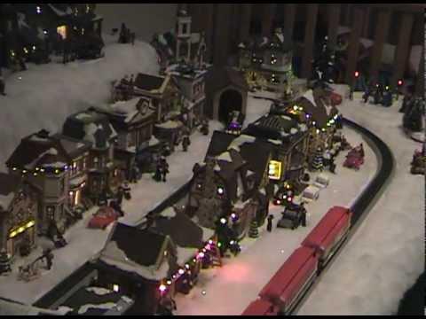 Miller Family Christmas Village 2011 - YouTube
