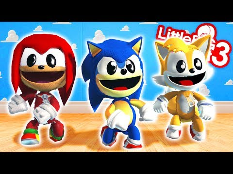 Sonic Knuckles & Tails In The World Of Toys - LittleBigPlanet 3   EpicLBPTime