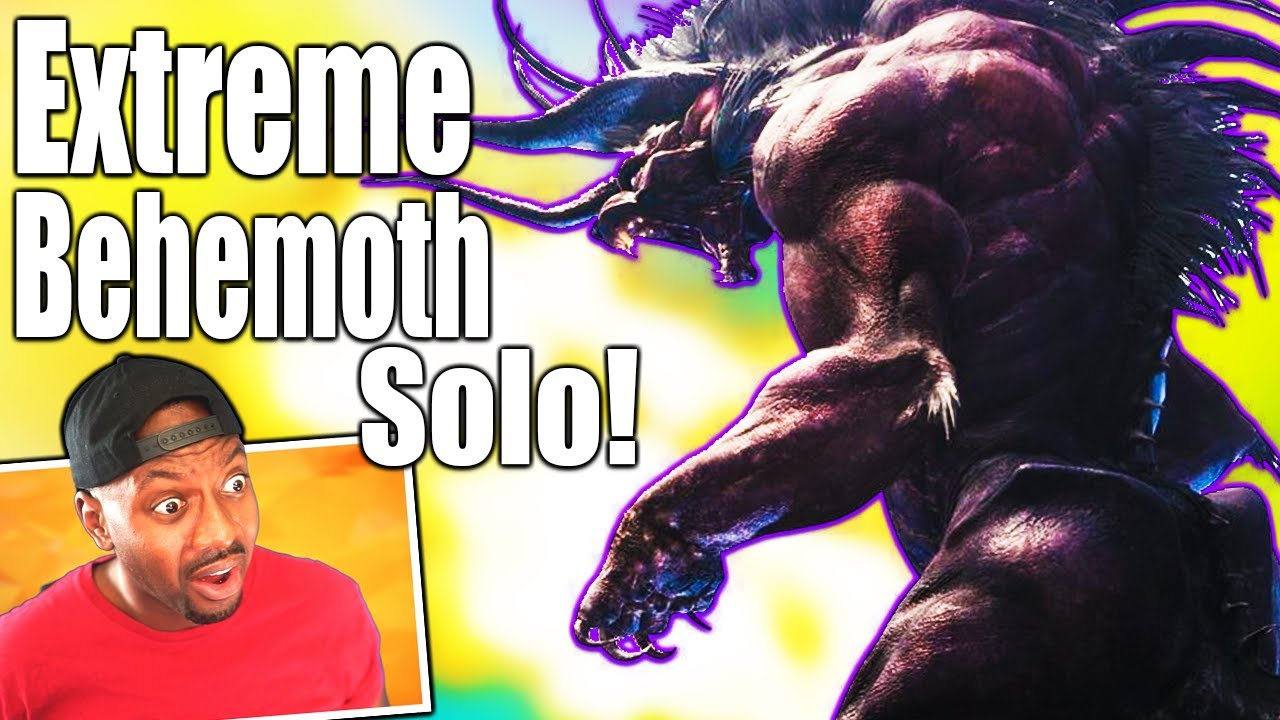 MHW Iceborne ∙ Extreme Behemoth Solo Hard With Fatalis Gear? | PS5 4K Gameplay