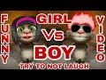 Boy and girl jokes funny video /Punjabi tom/