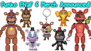 Funko FNaF 6/FFPS Merch Announced!