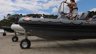 Sealegs Amphibious Boat Race New Zealand 2015