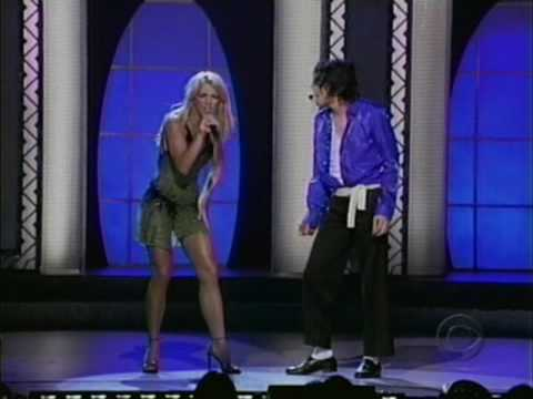 Michael Jackson & Britney Spears The Way You Make Me Feel 50th Anniversary Concert