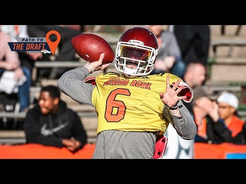 After practice: North Team QB Baker Mayfield