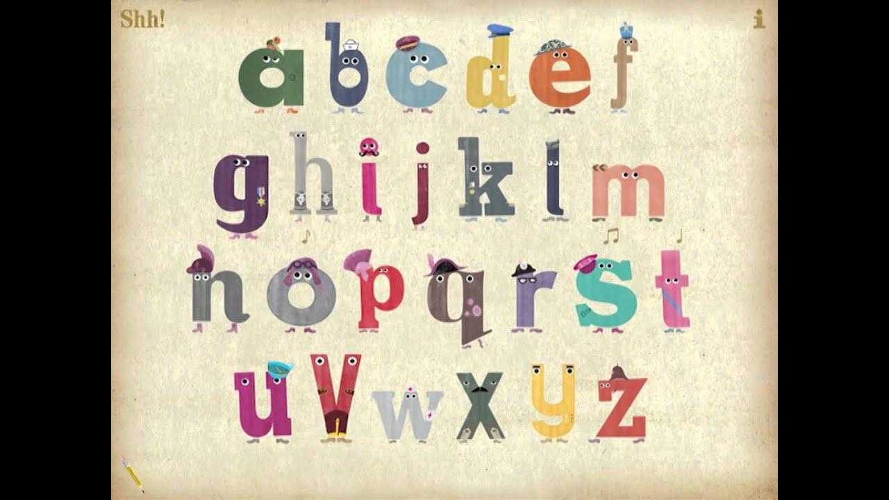 the singing alphabet youtube