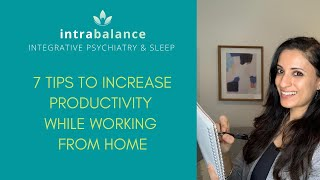 7 Tips to Increase Productivity while Working from Home