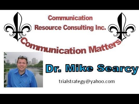 Dr  Mike Searcy Part 3 Interpersonal Communication: Perception
