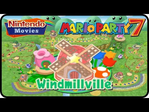Mario Party 7 - Windmillville (Multiplayer)