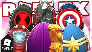 [EVENT] HOW TO GET ALL OF THE AVENGERS EGGS IN EGG HUNT 2019 SCRAMBLED IN TIME | Roblox