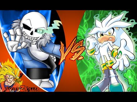 SANS vs SILVER! Cartoon Fight Club Episode 60 REACTION!!!