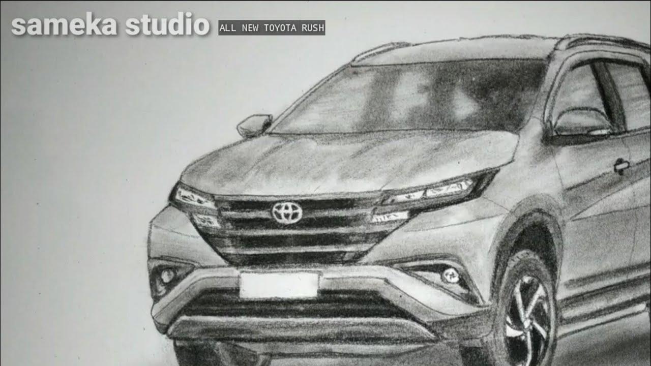 Toyota Rush 2019 Menggambar Toyota Rush 2019 Youtube