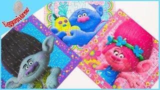 Trolls Video Characters Puzzle Poppy Branch Biggie #puzzle #trolls