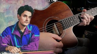 The Chords John Mayer Shouldve Used in New Light